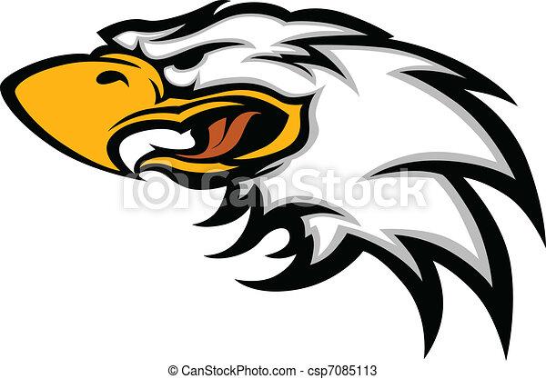 La mascota del águila es gráfica - csp7085113