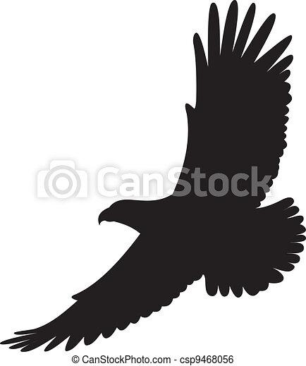 Vector de águila - csp9468056