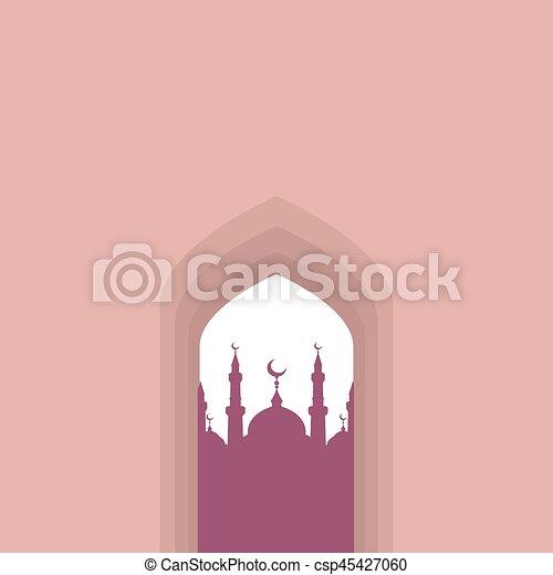 Arco árabe - csp45427060