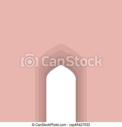 Arco árabe - csp45427033