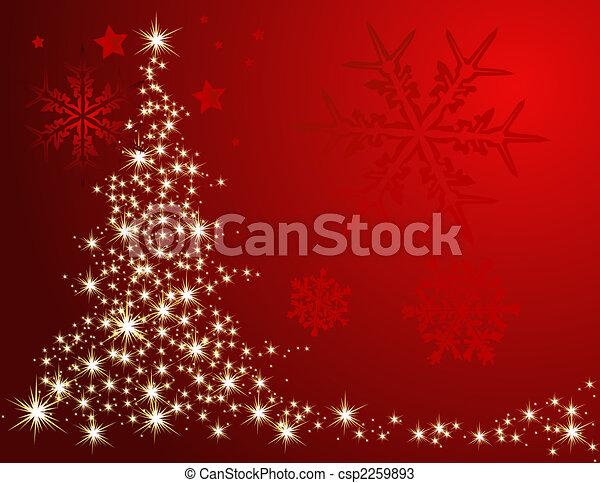 Árbol de Navidad - csp2259893