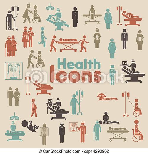Íconos de salud - csp14290962