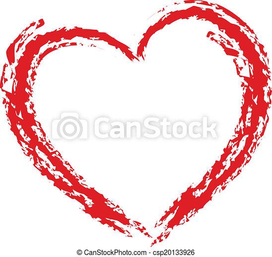 Elemento de diseño del corazón - csp20133926