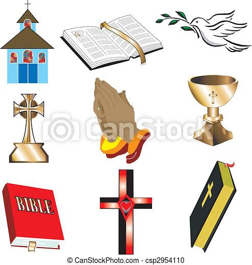 iconos de la iglesia 1 - csp2954110