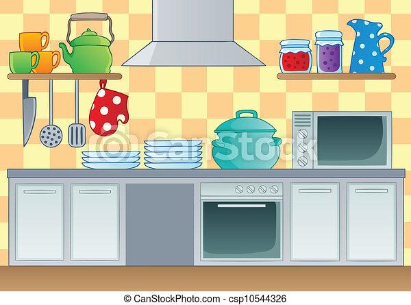 Tema de cocina 1 - csp10544326