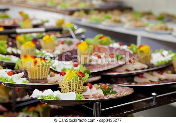 Catering - csp8435277