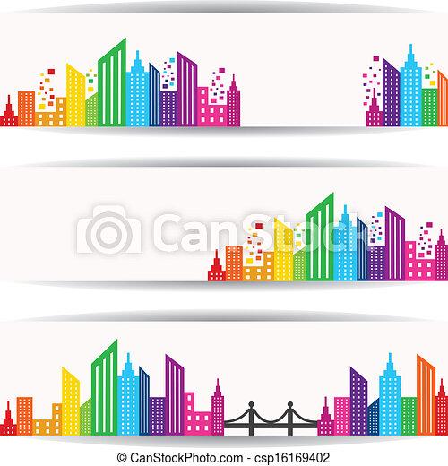 Abstracción de diseño colorido - csp16169402