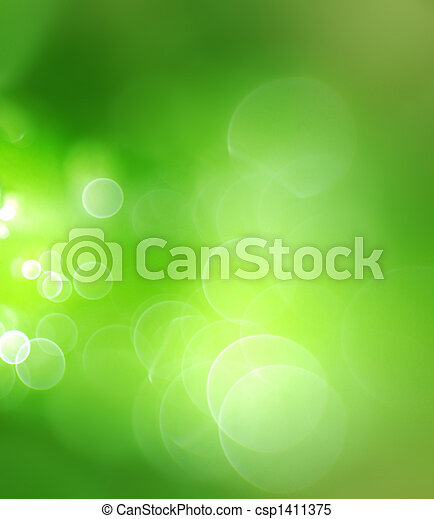 Abstracción de fondo verde - csp1411375