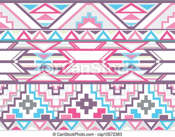 Abstracción geométrica azteca p - csp10572383