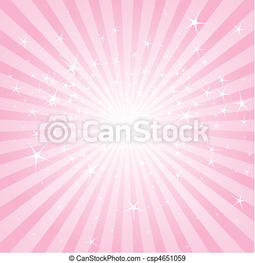Abstrae estrellas rosas y rayas - csp4651059