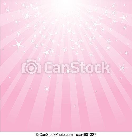 Abstraer estrellas rosas y rayas - csp4601327