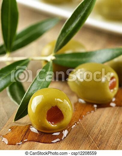 Olivos rellenos - csp12208559