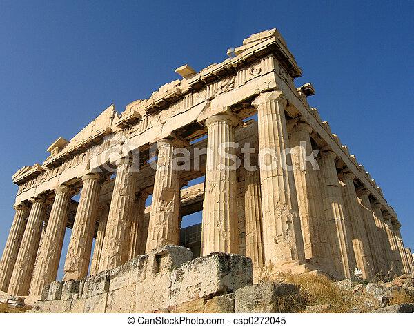 Acrópolis, Atenas - csp0272045