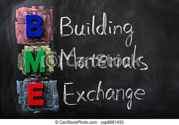 Acronim de BME para el intercambio de materiales - csp8681433