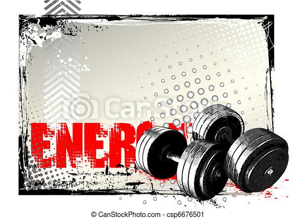 Afiche Gym - csp6676501