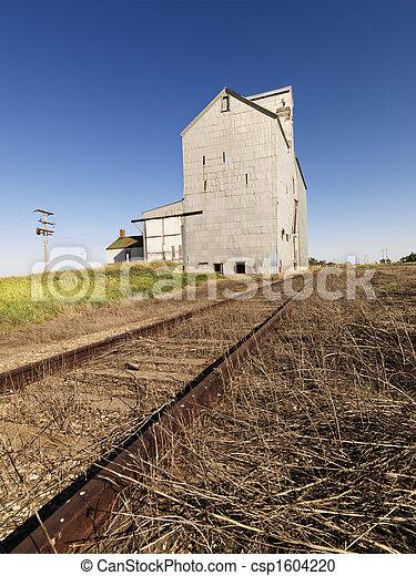 Edificio agrícola. - csp1604220