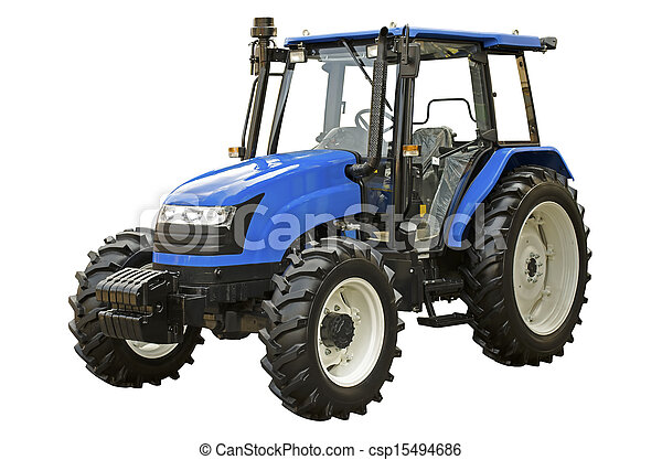 Un tractor agrícola - csp15494686