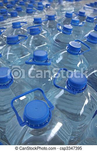 Agua embotellada - csp3347395