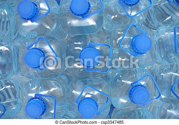 Agua embotellada - csp3347485