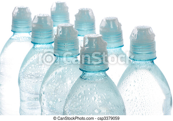 Agua embotellada - csp3379059