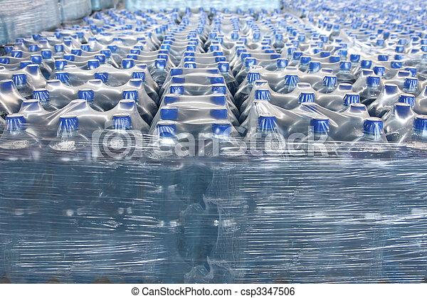 Agua embotellada - csp3347506