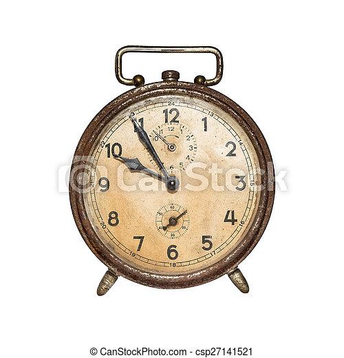 Retro despertador. - csp27141521