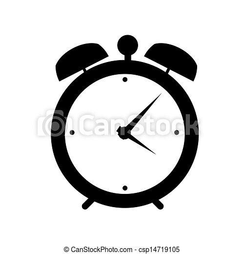 Ilustración de la alarma de un icono - csp14719105