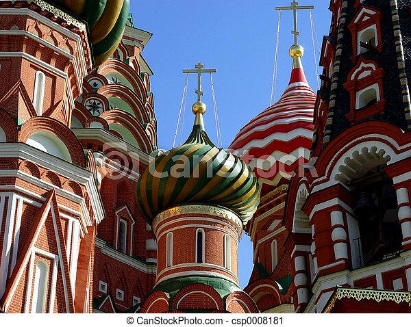 St. Basil catedral - csp0008181