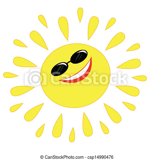 Sol alegre - csp14990476