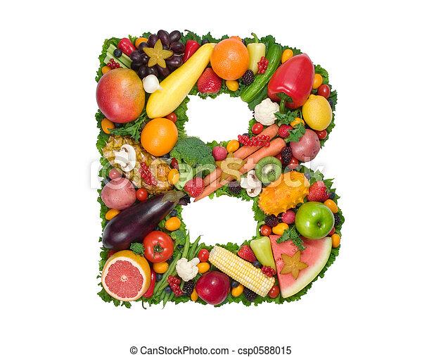 Alfabeto de salud - csp0588015