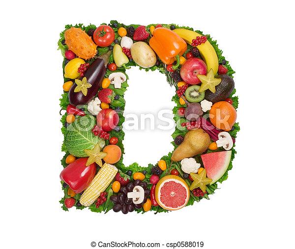 Alfabeto de salud - csp0588019