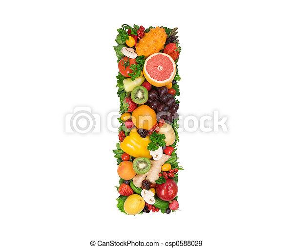 Alfabeto de salud - csp0588029