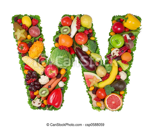 Alfabeto de salud - csp0588059