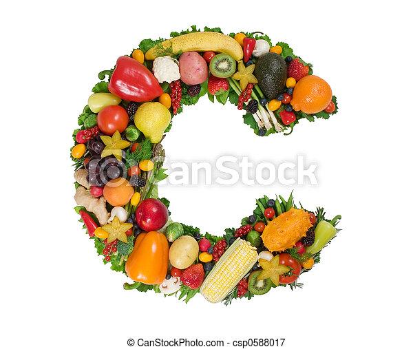 Alfabeto de salud - csp0588017