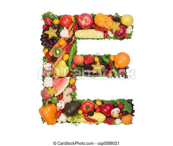 Alfabeto de salud - csp0588021