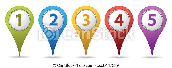 Pinos de localización - csp8447339