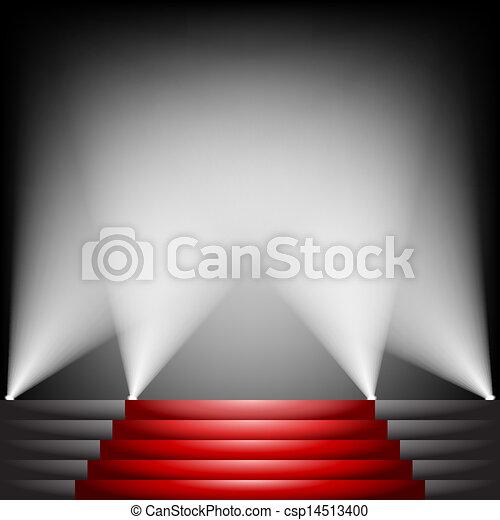 alfombra roja - csp14513400