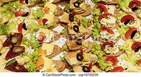 Comida de catering - csp19740230