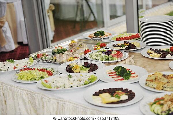 Comida de cocina - csp3717403