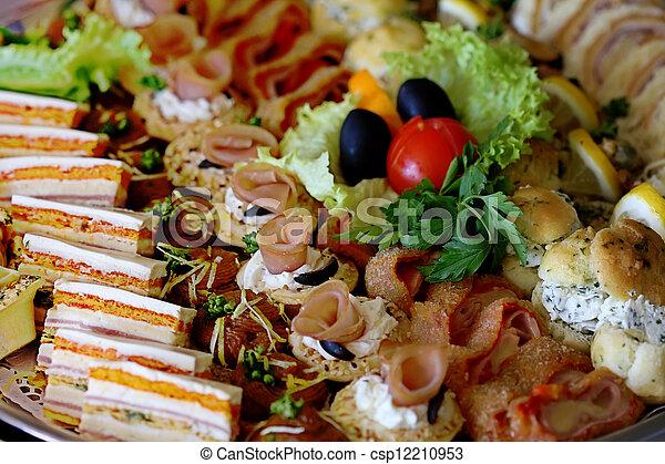 Comida de cocina - csp12210953