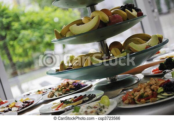Comida de cocina - csp3723566