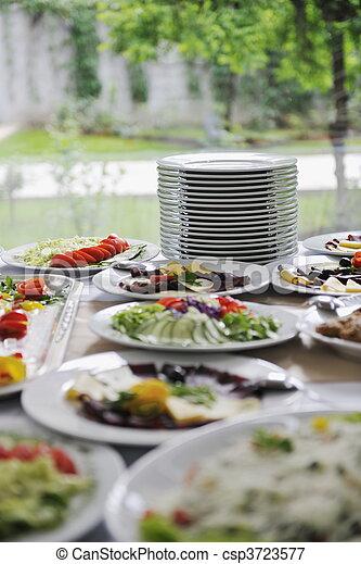 Comida de cocina - csp3723577