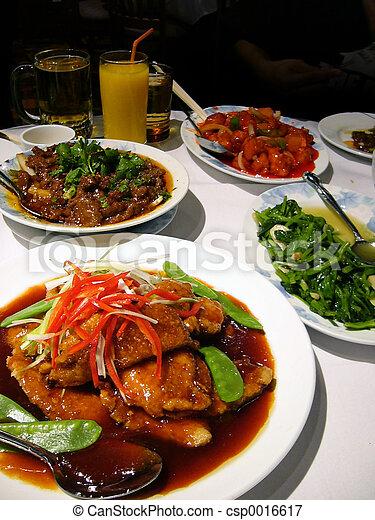 Comida asiática - csp0016617