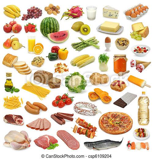 Colección de comida - csp6109204