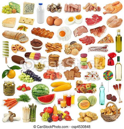 Colección de comida - csp4530848