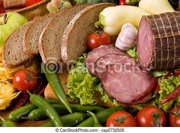 Composición de comida - csp2732505