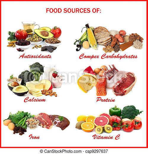 Fuentes de nutrientes - csp9297637