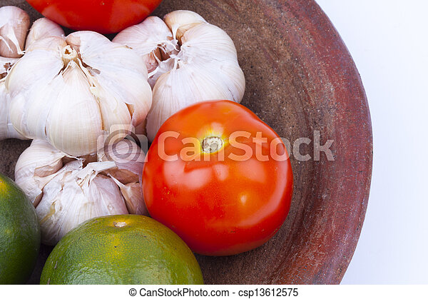 Comida sana - csp13612575