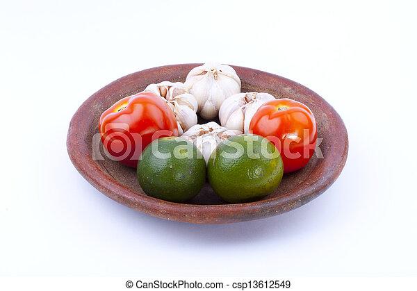 Comida natural - csp13612549