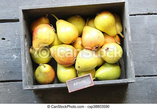 Idea de comida natural - csp38803590